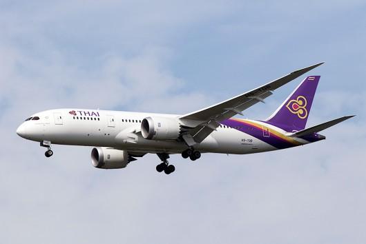 TG/THA/タイ国際航空 TG642 B787-8 HS-TQB