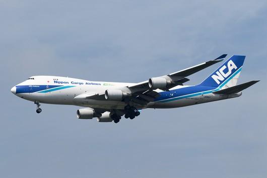 KZ/NCA/日本貨物航空 KZ8562 B747-400F JA06KZ