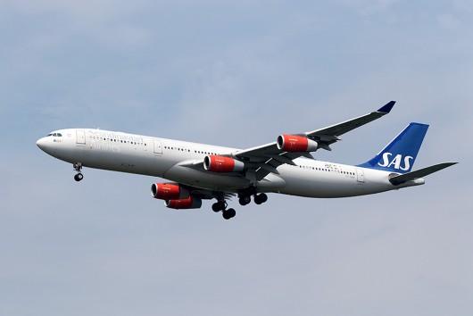 SK/SAS/スカンジナビア航空 SK983 A340-300 OY-KBC