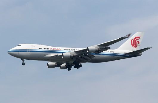 CA/CCA/中国国際航空 CA1073 B747-400F B-2476