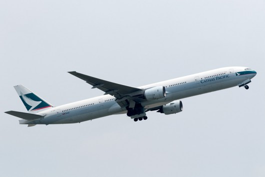 CX/CPA/キャセイパシフィック航空 CX501 B777-300 B-HNO