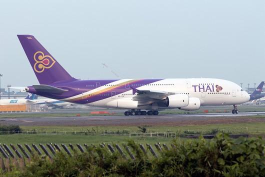 TG/THA/タイ国際航空 TH697 A380 HS-TUF