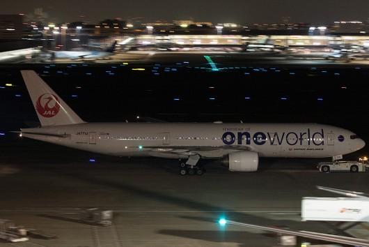 JL/JAL/日本航空 JA771J B777-200 OneWorld