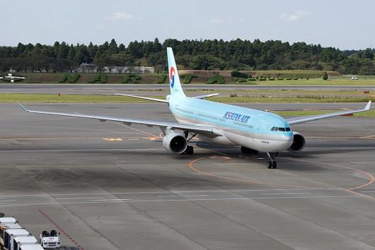 KE/KAL/大韓航空 KE701 A330-200 HL7548