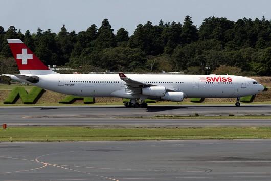LX/SWR/スイス国際航空 LX161 A340-300 HB-JMF