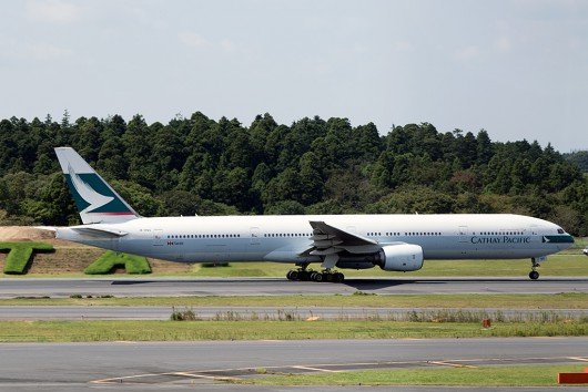 CX/CPA/キャセイパシフィック航空 CX503 B777-300 B-HNG