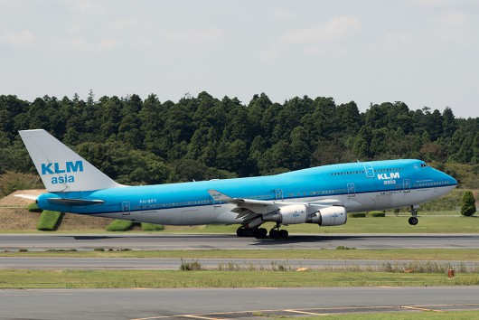 KL/KLM/KLMオランダ航空 KL862 B747-400 PH-BFY