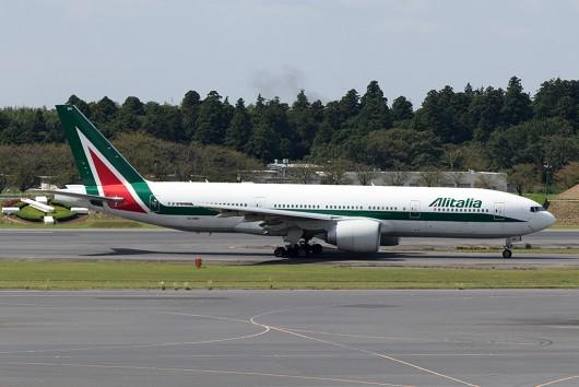 AZ/AZA/アリタリア航空 AZ784 B777-200 EI-DBK