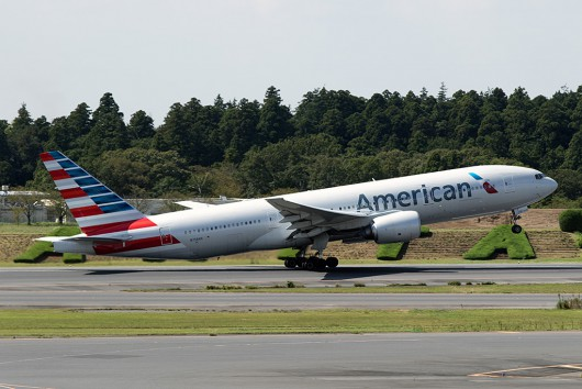 AA/AAL/アメリカン航空 AA176 B777-200 N758AN