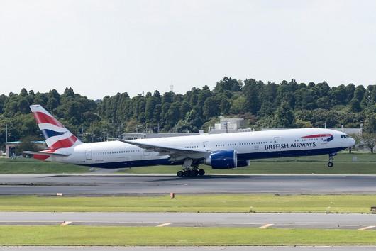 BA/BAW/ブリティッシュ・エアウェイズ BA6 B777-300ER G-STBK