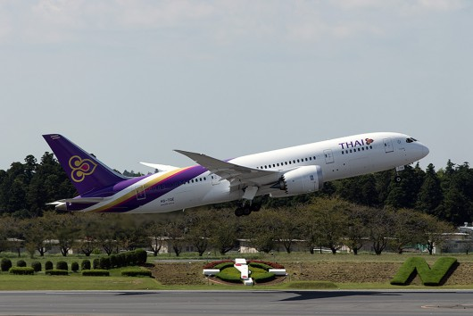TG/THA/タイ国際航空 TG641 B787-8 HS-TQE