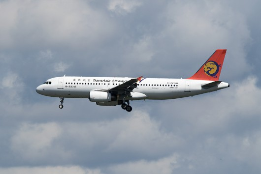 GE/TNA/トランスアジア航空  A320 B-22310