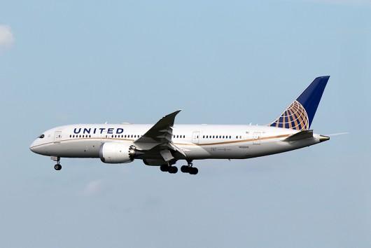 UA/UAL/ユナイテッド航空 UA139 B787-8 N30913