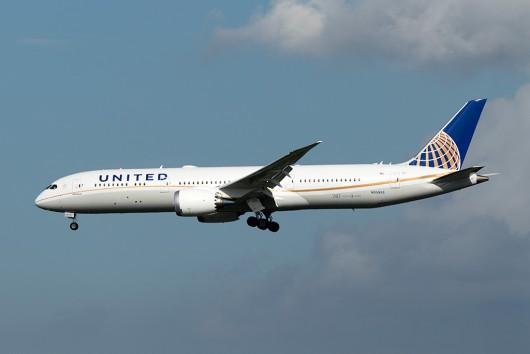UA/UAL/ユナイテッド航空 UA32 B787-9 N35953