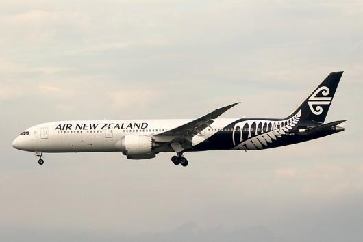 NZ/ANZ/ニュージーランド航空 NZ99 B787-9 ZK-NZF
