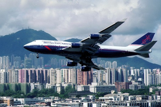 BRITISH ASIA AIRWAYS B747-400