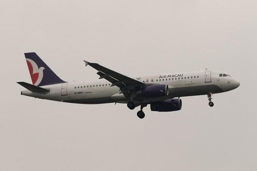 NX/AMU/マカオ航空 NX862 A320 B-MBC