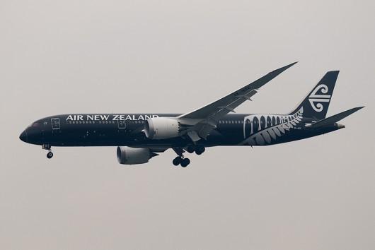NZ/ANZ/ニュージーランド航空 NZ99 B787-9 ZK-NZE
