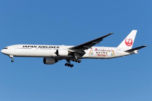 JL/JAL/日本航空 JL906 B777-300ER JA751J