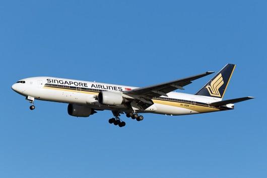 SQ/SIA/シンガポール航空 SQ632 B777-200ER 9V-SQM