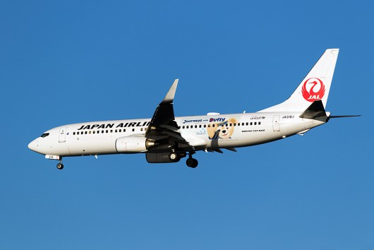 JL/JAL/日本航空 JL188 B737-800 JA318J