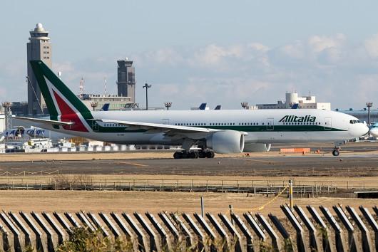 AZ/AZA/アリタリア航空  B777-200ER EI-ISB