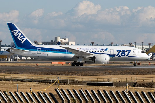 NH/ANA/全日空  B787-8 JA805A