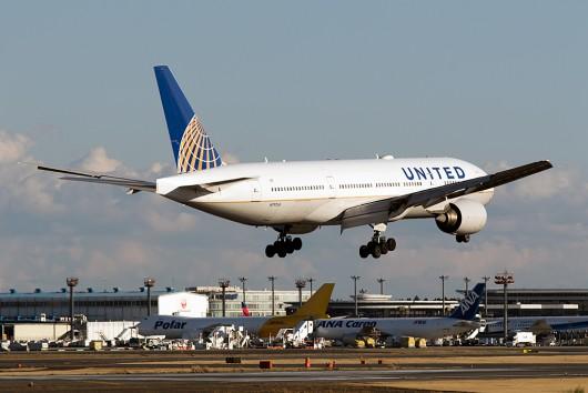 UA/UAL/ユナイテッド航空  B777-200ER N797UA