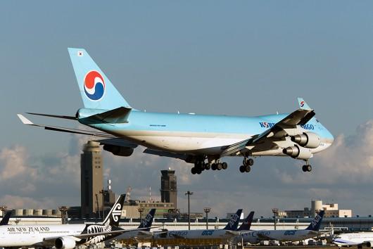 KE/KAL/大韓航空  B747-400F HL7449