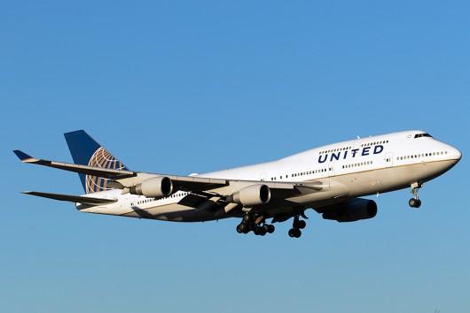 UA/UAL/ユナイテッド航空  B747-400 N177UA