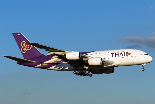 TG/THA/タイ国際航空  A380 HS-TUE