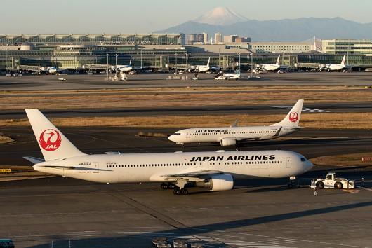 JL/JAL/日本航空 B767-300ER JA612J