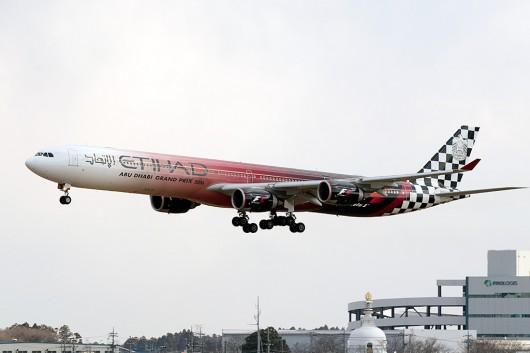 EY/ETD/エティハド航空  A340-600 A6-EHJ