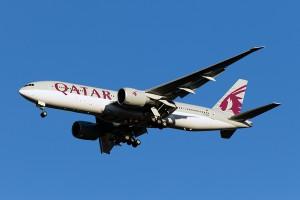 QR/QTR/カタール航空 B777-200 A7-BBB