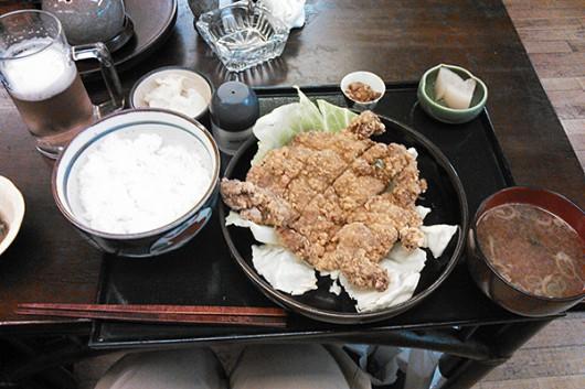 山賊焼き定食950円