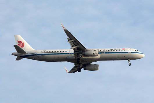 CA/CCA/中国国際航空 CA167 A321 B-1878