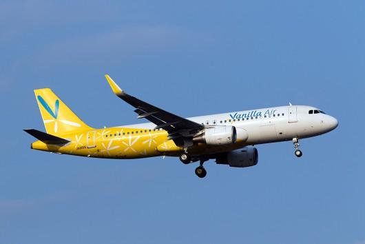 JW/VNL/バニラエア JW804 A320 JA01VA