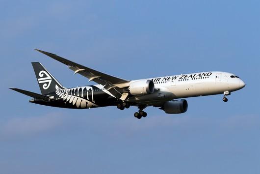 NZ/ANZ/ニュージーランド航空 NZ99 B787-9 ZK-NZG