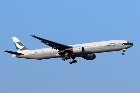 CX/CPA/キャセイパシフィック航空 CX450 B777-300 B-HNO