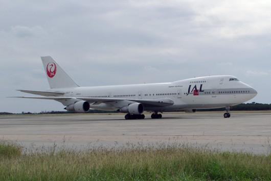 JL/JAL/日本航空 B747-200 JA8127