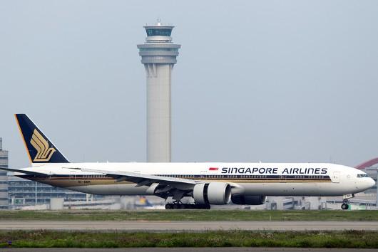 SQ/SIA/シンガポール航空 SQ632 B777-300ER 9V-SWR