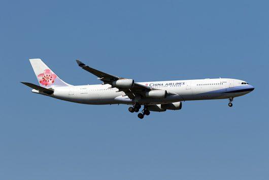 CI/CAL/チャイナエアライン CI108 A340-300 B-18805