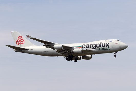 C8/ICV/カーゴルクス・イタリア C85735 B747-400F LX-TCV