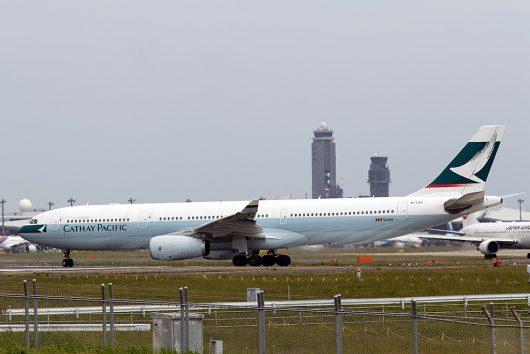 CX/CPA/キャセイパシフィック航空 CX509 A330-300 B-LBE