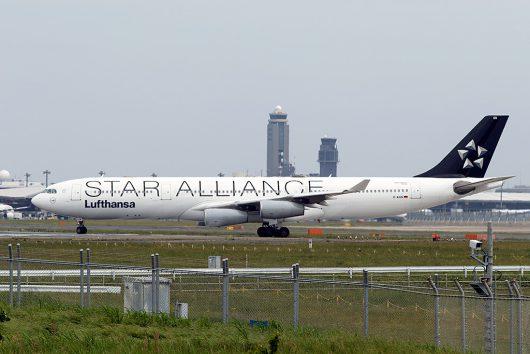 LH/DLH/ルフトハンザ・ドイツ航空 LH711 A340-300 D-AIGN