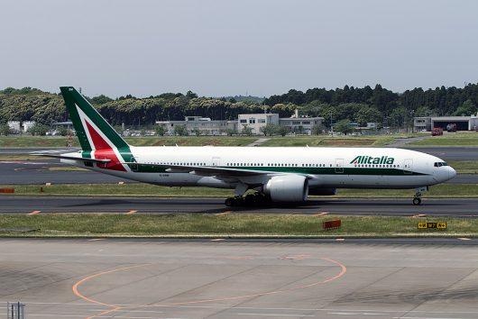 AZ/AZA/アリタリア航空  B777-200ER EI-DBM