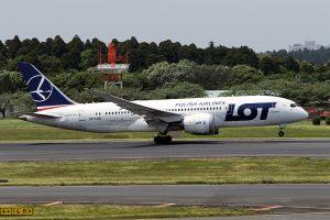 LO/LOT/LOTポーランド航空 LO80 B787-8 SP-LRD