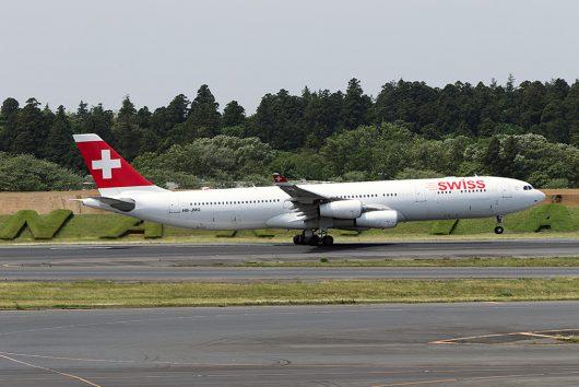 LX/SWR/スイス国際航空 LX161 A340-300 HB-JMG