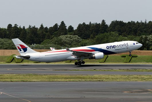 MH/MAS/マレーシア航空 MH89 A330-300 9M-MTE