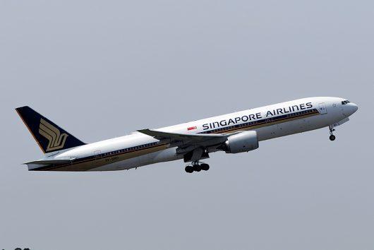 SQ/SIA/シンガポール航空 SQ637 B777-200ER 9V-SRO